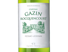 CHÂTEAU GAZIN ROCQUENCOURT BLANC 2011