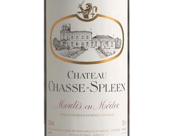 CHÂTEAU CHASSE-SPLEEN 2013