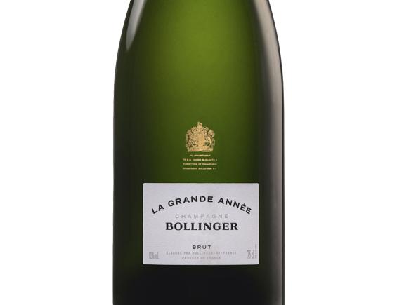 CHAMPAGNE BOLLINGER LA GRANDE ANNÉE 2005 COFFRET