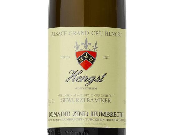 ZIND-HUMBRECHT GEWÜRZTRAMINER HENGST GRAND CRU 2012
