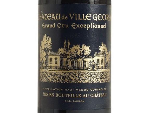 CHÂTEAU DE VILLEGEORGE 2001