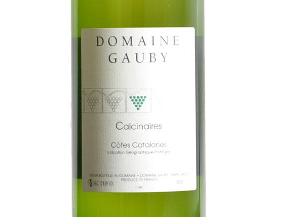 DOMAINE GAUBY LES CALCINAIRES BLANC 2011