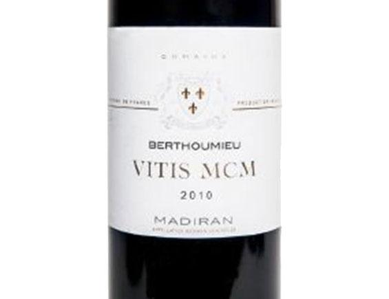 DOMAINE BERTHOUMIEU MADIRAN VITIS MCM 2010