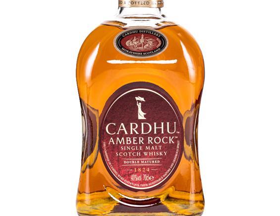 WHISKY CARDHU AMBER ROCK ETUI