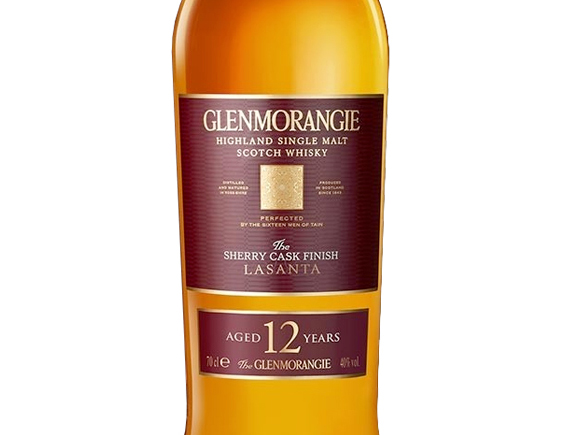 WHISKY GLENMORANGIE THE LASANTA SHERRY EXTRA MATURED 12 ANS ETUI