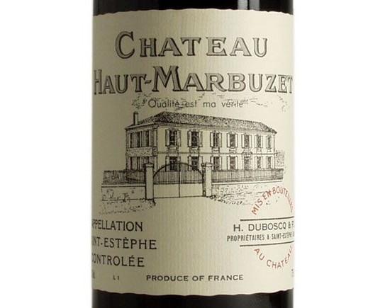 CHÂTEAU HAUT-MARBUZET 2002 rouge, Cru Bourgeois