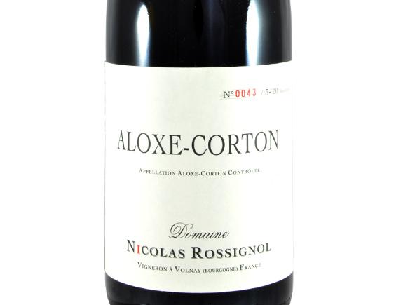 DOMAINE NICOLAS ROSSIGNOL ALOXE CORTON ROUGE 2015