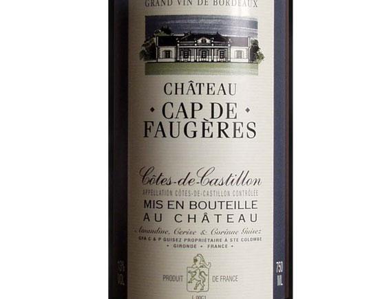 CHATEAU CAP DE FAUGERES 2013