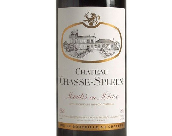 CHÂTEAU CHASSE-SPLEEN 2002 rouge