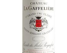CHÂTEAU LA GAFFELIERE rouge 1989, Premier Grand Cru Classé
