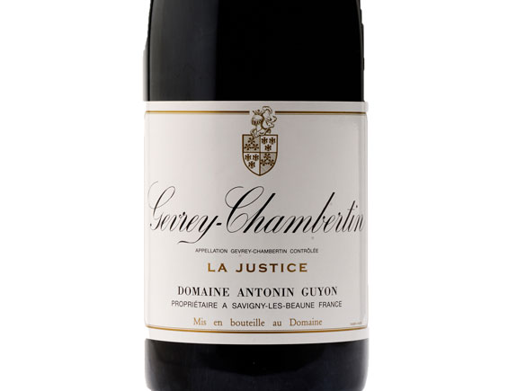 DOMAINE ANTONIN GUYON GEVREY-CHAMBERTIN LA JUSTICE 2019