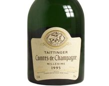 CHAMPAGNE TAITTINGER COMTES DE CHAMPAGNE 1995