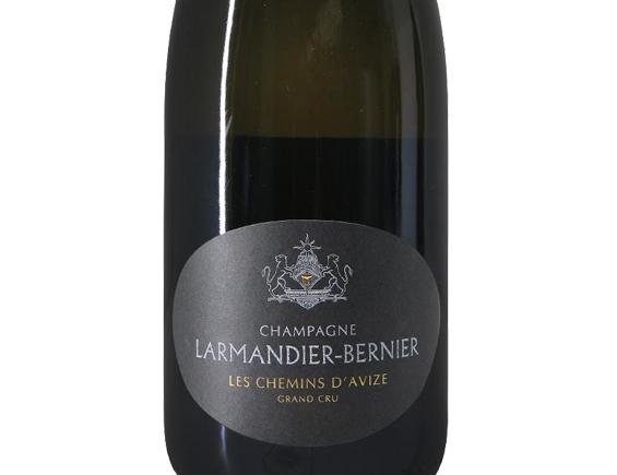 CHAMPAGNE LARMANDIER-BERNIER LES CHEMINS D'AVIZE GRAND CRU EXTRA-BRUT BLANC DE BLANCS 2013