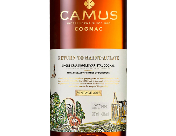COGNAC CAMUS RETURN TO SAINT-AULAYE ETUI