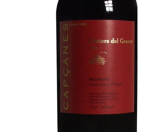 CAPCANES COSTER DEL GRAVET TINTO rouge 2001