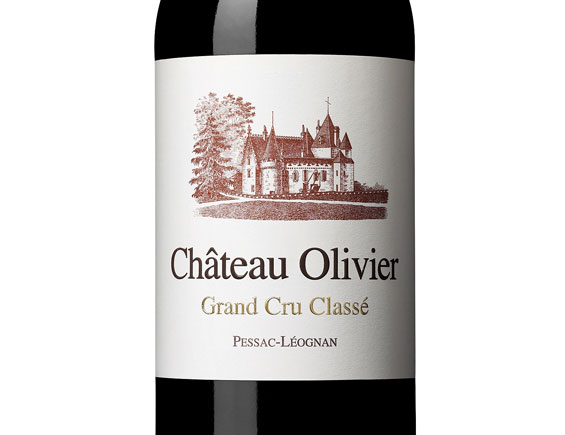 CHATEAU OLIVIER ROUGE 2007