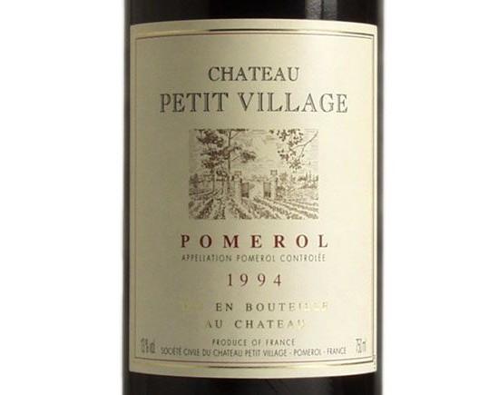 CHÂTEAU PETIT VILLAGE rouge  1994