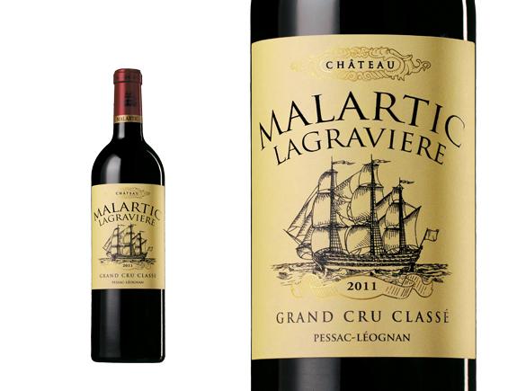 CHÂTEAU MALARTIC-LAGRAVIÈRE ROUGE 2011