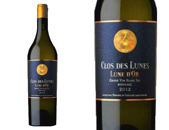 CLOS DES LUNES CUVEE LUNE D'OR 2012