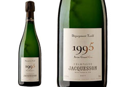CHAMPAGNE JACQUESSON AVIZE GRAND CRU 1995 DÉGORGEMENT TARDIF