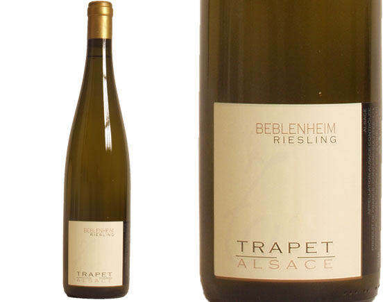 DOMAINE TRAPET ALSACE RIESLING BEBLENHEIM 2011 Blanc