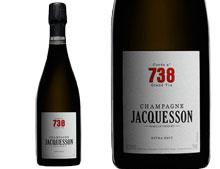 CHAMPAGNE JACQUESSON CUVÉE N°738