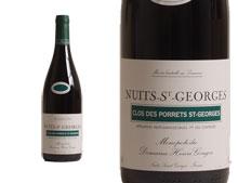 DOMAINE HENRI GOUGES NUITS ST GEORGES 1ER CRU CLOS DES PORRETS ST GEORGES 2013