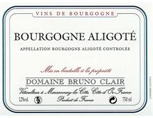 DOMAINE BRUNO CLAIR BOURGOGNE ALIGOTE 2013 BLANC