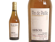 DOMAINE TISSOT ARBOIS VIN DE PAILLE 2011 37,5 cl