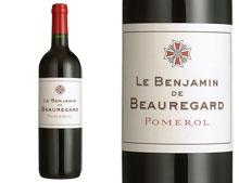 LE BENJAMIN DE BEAUREGARD 2012