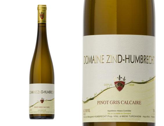 ZIND-HUMBRECHT PINOT GRIS CALCAIRE 2012