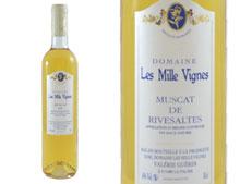 DOMAINE LES MILLE VIGNES MUSCAT DE RIVESALTES 50CL 2005