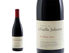 DOMAINE DE LA VIEILLE JULIENNE CHÂTEAUNEUF-DU-PAPE LES HAUTS LIEUX ROUGE 2013