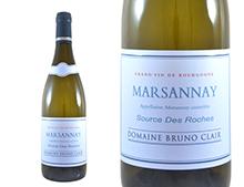 DOMAINE BRUNO CLAIR MARSANNAY SOURCES DES ROCHES BLANC 2014