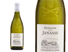 DOMAINE DE LA JANASSE CHÂTEAUNEUF-DU-PAPE BLANC PRESTIGE 2014