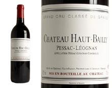 CHÂTEAU HAUT-BAILLY rouge 2001, Cru Classé de Graves