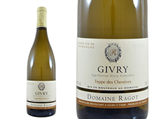DOMAINE RAGOT GIVRY TEPPE DES CHENÈVES BLANC 2014