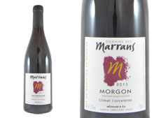 DOMAINE DES MARRANS MORGON CORCELETTES 2013