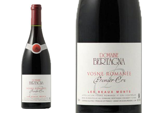 DOMAINE BERTAGNA VOSNE-ROMANÉE 1ER CRU LES BEAUX MONTS 2015