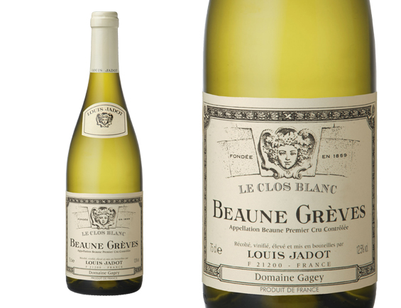 LOUIS JADOT BEAUNE 1ER CRU GRÈVES CLOS BLANC 2012