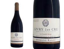 DOMAINE RAGOT GIVRY 1ER CRU LA GRANDE BERGE ROUGE 2014
