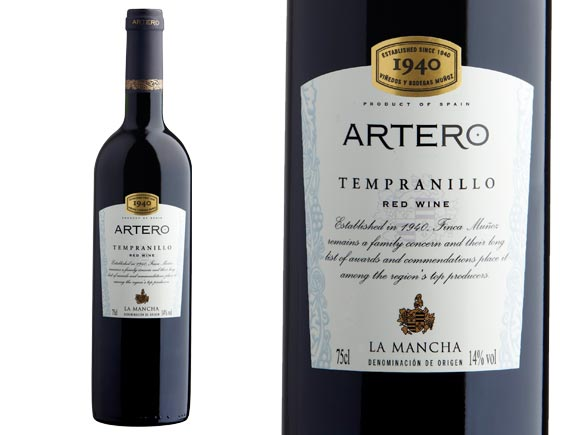 ARTERO TEMPRANILLO 2017