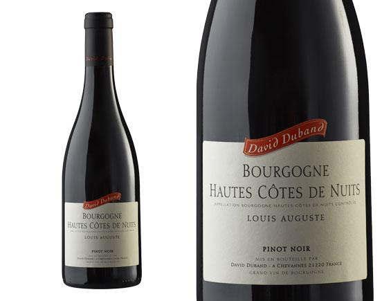 DAVID DUBAND BOURGOGNE HAUTES-CÔTES DE NUITS LOUIS AUGUSTE ROUGE 2015