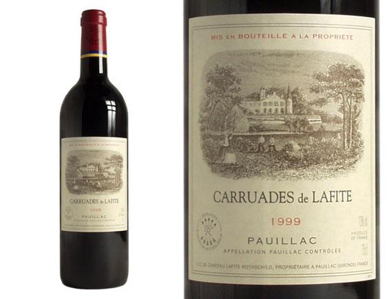 CARRUADES DE LAFITE rouge 1999, Second Vin du Château Lafite-Rothschild