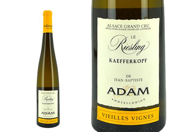 JEAN-BAPTISTE ADAM ALSACE GRAND CRU KAEFFERKOPF VIEILLES VIGNES RIESLING 2015