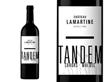 CHÂTEAU LAMARTINE CAHORS TANDEM ROUGE 2017