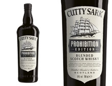 WHISKY CUTTY SARK PROHIBITION