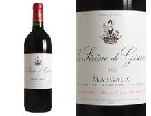 LA SIR�NE DE GISCOURS rouge 1996, Second vin de Ch�teau Giscours - caisse 12 x 0.750 L
