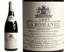BOUCHARD P�RE & FILS LA ROMAN�E GRAND CRU rouge 1997