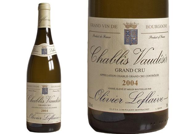 CHABLIS GRAND CRU ''VAUDÉSIR'' 2004 blanc